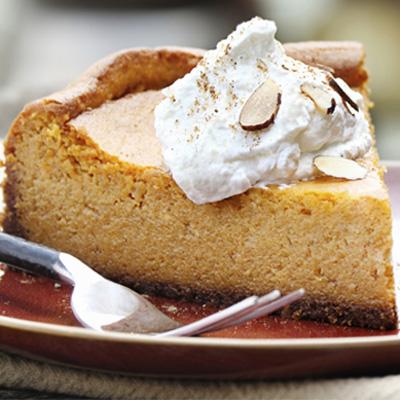 Honey Pumpkin Cheesecake