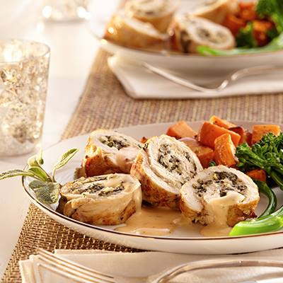 Turkey Tenderloin Roll-Ups