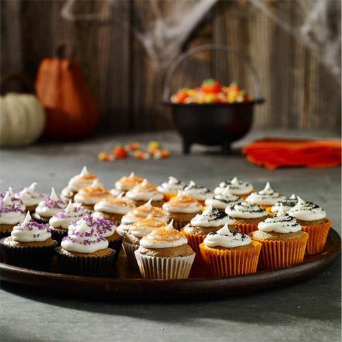 Jack-Be-Little Mini Pumpkin Cupcakes