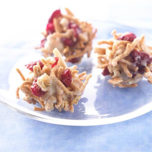 No-Bake Craisins Crunch Clusters