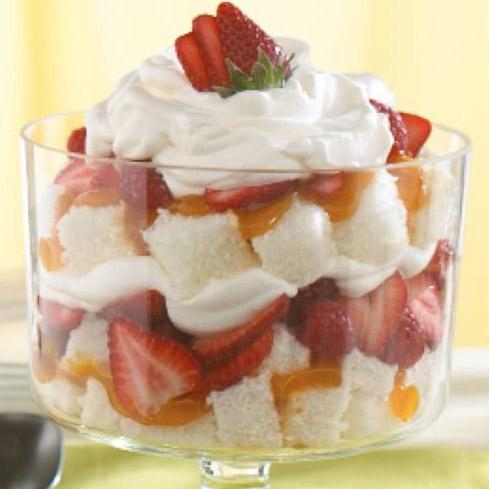 Citrus Berry Trifle