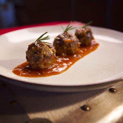 Sweetly Spicy Meatballs