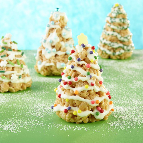 Cookie Butter Christmas Trees