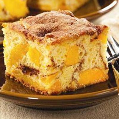 Perfectly Peach Cinnacake
