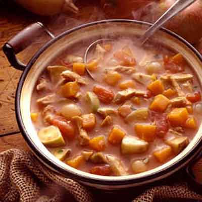 Chicken and Squash Stew