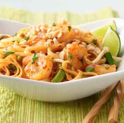 Weeknight Shrimp Pad Thai