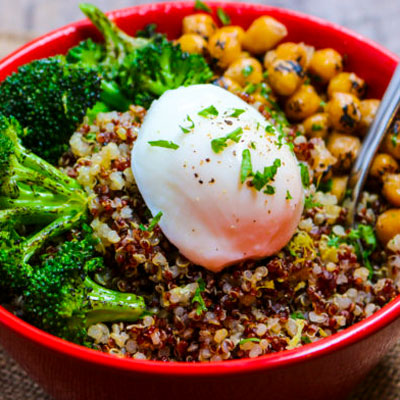Quinoa Bowl with Roasted Vegetables