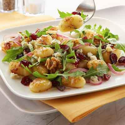 Pan-Fried Gnocchi Salad
