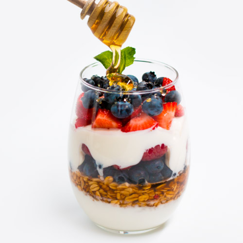 Honey-Kissed Parfait
