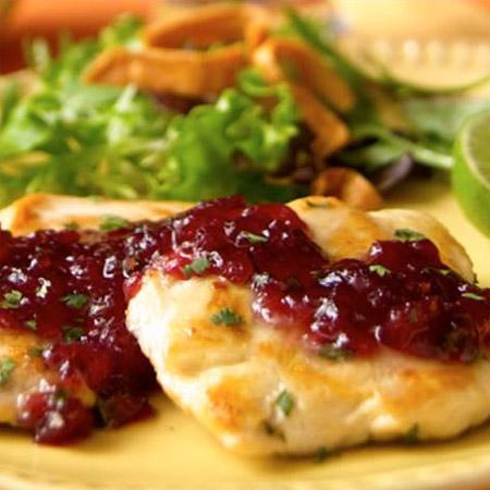 Cranberry Chicken Margarita