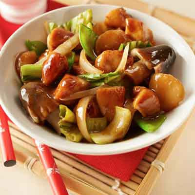 Asian Bok Choy Stir-Fry