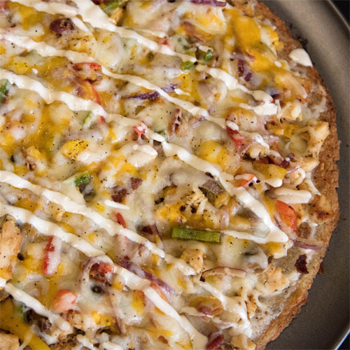 Brown Rice Pizza Crust