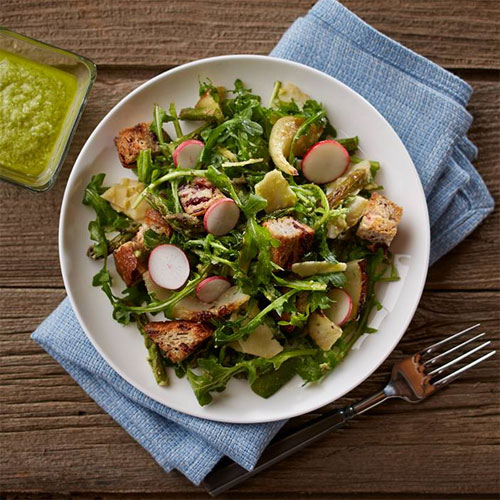 Roasted Spring Vegetable Salad