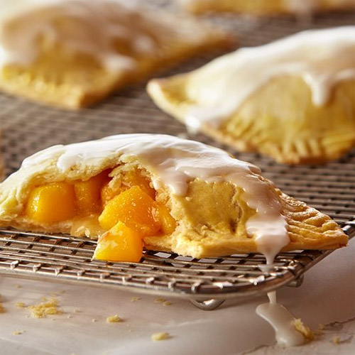 Bourbon Peach Mini Pies