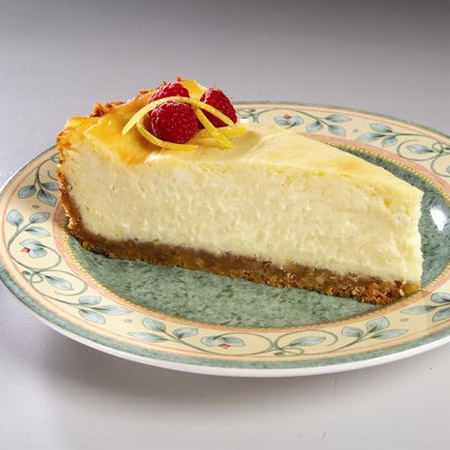 Lemon Twisted Cheese Cake