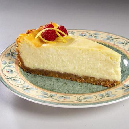 Lemon Twisted Cheese Cake