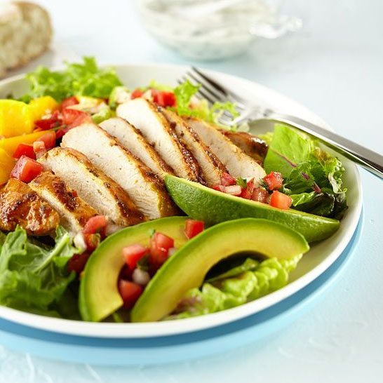 Mango Avocado Chicken Salad