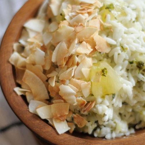 Coconut Pineapple Cilantro Rice