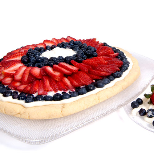 Honey Fruit Pizza