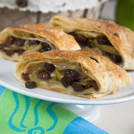 Raisin Apple Strudel