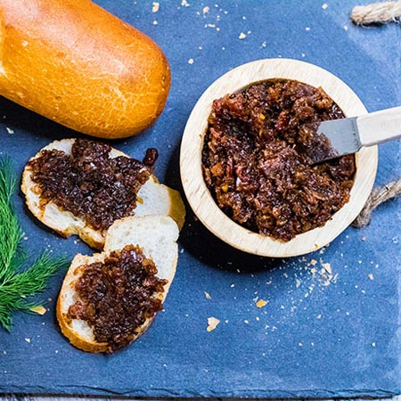 Sweet & Savory Bourbon Bacon Jam