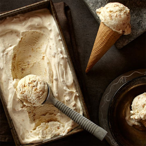 Brown Butter No Churn Ice Cream