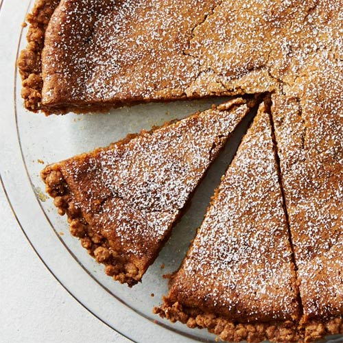 Cinnamon Sugar Butter Pie