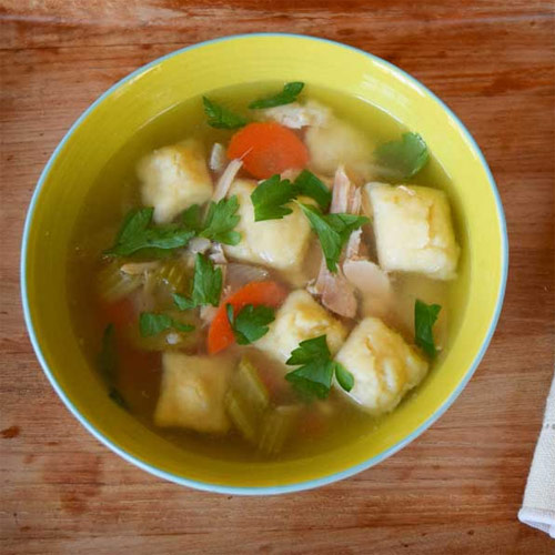 Slow Cooker Chicken and Dumpling Soup