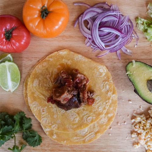 Beer Braised Pork Tacos