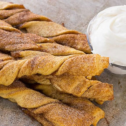 Apple Pie Cinnamon Twists