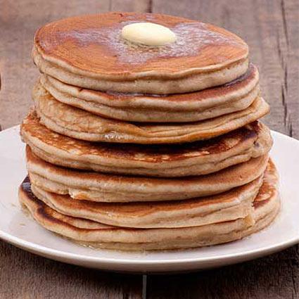 Cinnamon Honey Pancakes