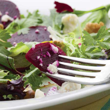 Beet Salad with Honey Harvest Dressing