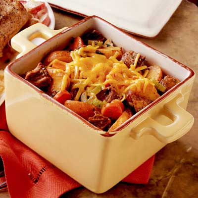 Beef and Potato Casserole