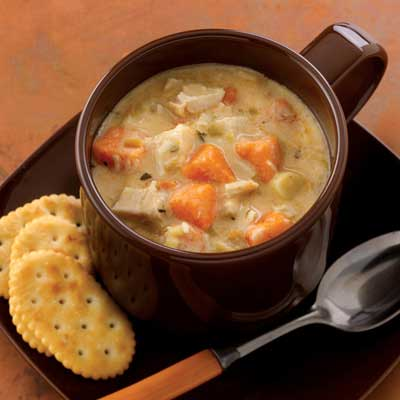 Chicken and Sweet Potato Chowder
