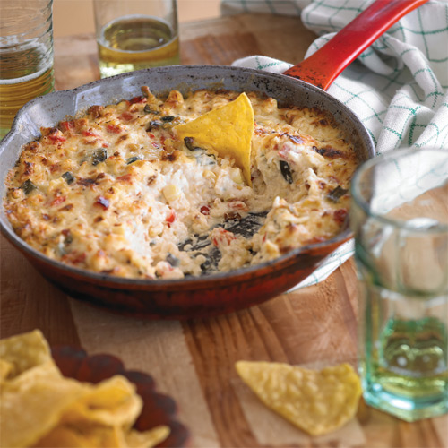 Roasted Corn and Pepper Dip