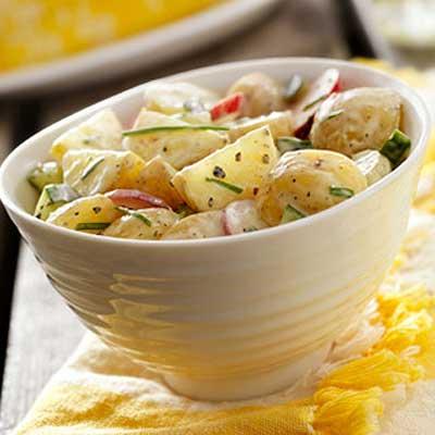 Citrus-Basil Potato Salad