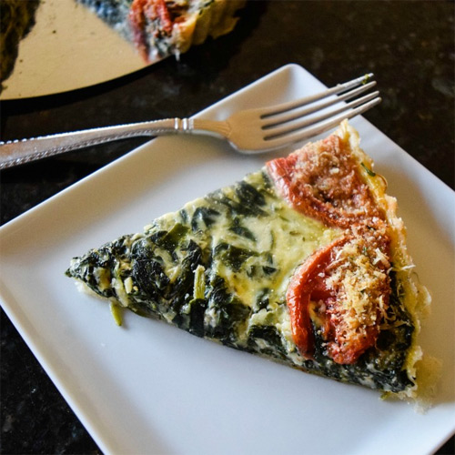 How to Make a Very Veggie Quiche by Kaitlin