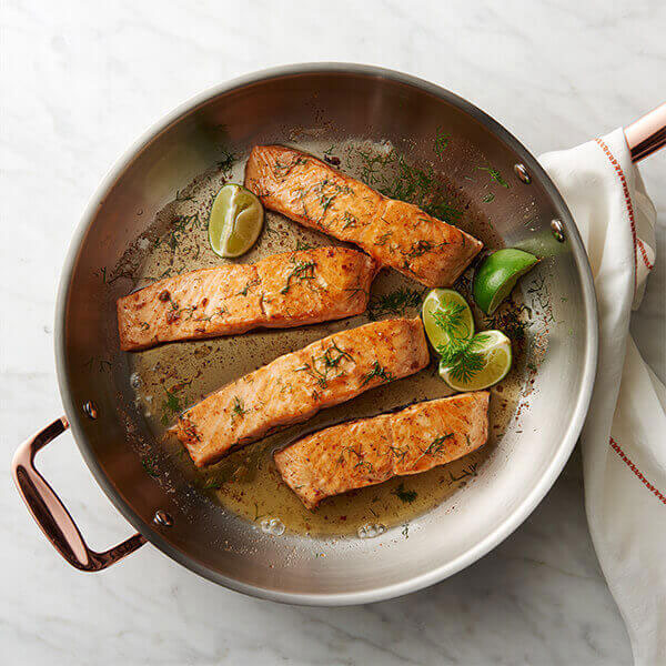 Butter Poached Salmon in 15 Minutes
