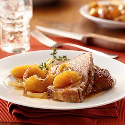 Slow Cooker Chipotle Apple Pork Roast