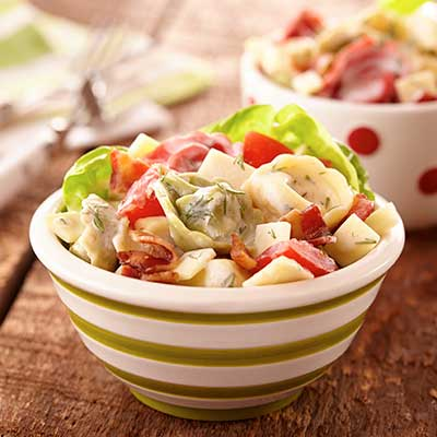 Easy and Cheesy Tortellini Salad