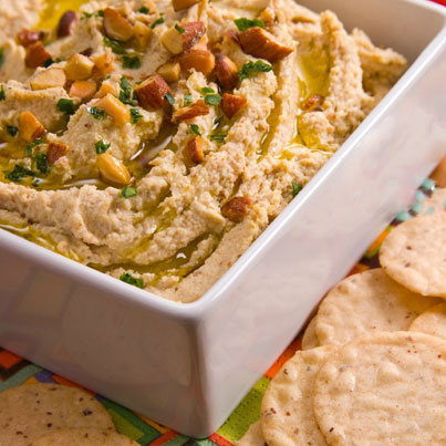 Smokehouse Almond Hummus