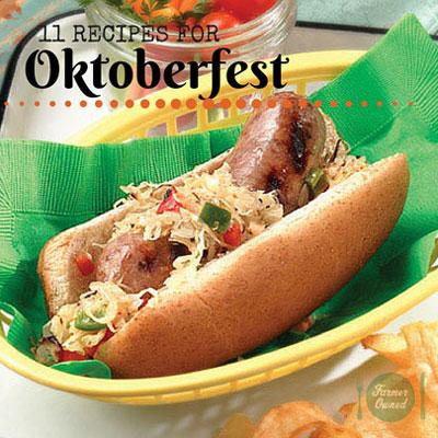 Brats, Sauerkraut, Pretzels and Desserts to Celebrate Oktoberfest!