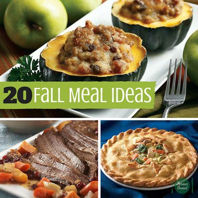 20 Fall Meal Ideas