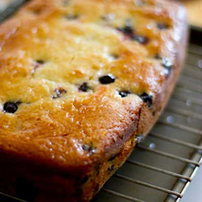 Orange Blueberry Loaf