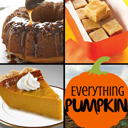 17 Irresistible Recipes Featuring PUMPKIN