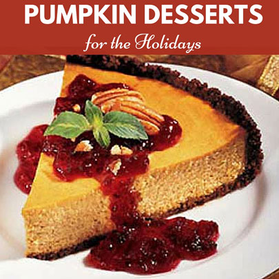 Pumpkin Desserts for the Holidays