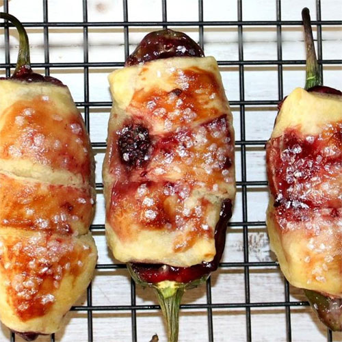 Berry and Brie Poppers will spice up any party.