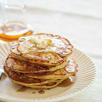 Dad's Cottage Cheese Pancakes