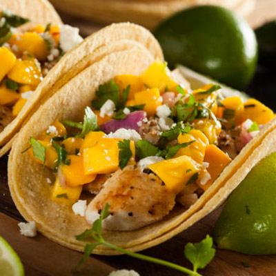 Honey Fish Tacos