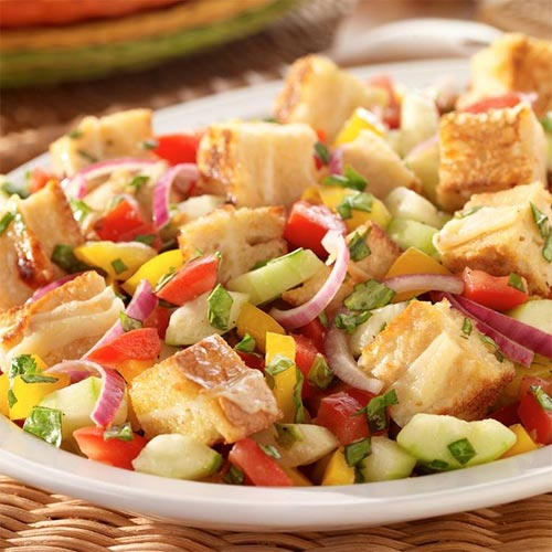 Grilled Cheese Panzanella